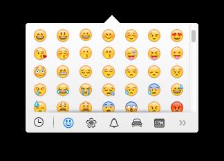 Mac OS X Mavericksで絵文字入力を簡単に行う方法