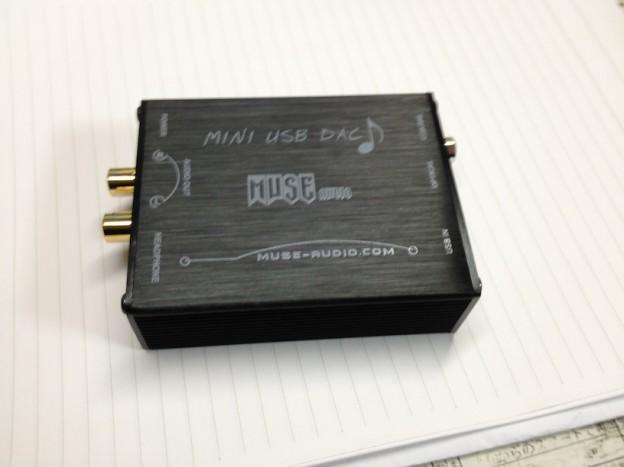 初めてのUSB-DACヘッドホンアンプを購入してみた (MUSE Audio PCM2704) [レビュー]