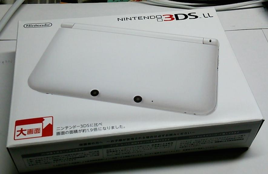 今が買い時かも!Nintendo 3DS LLを購入しました [レビュー]