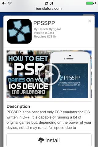 PSPエミュレータ「PPSSPP」をJailbreakしていないiOSデバイスにインストールする方法