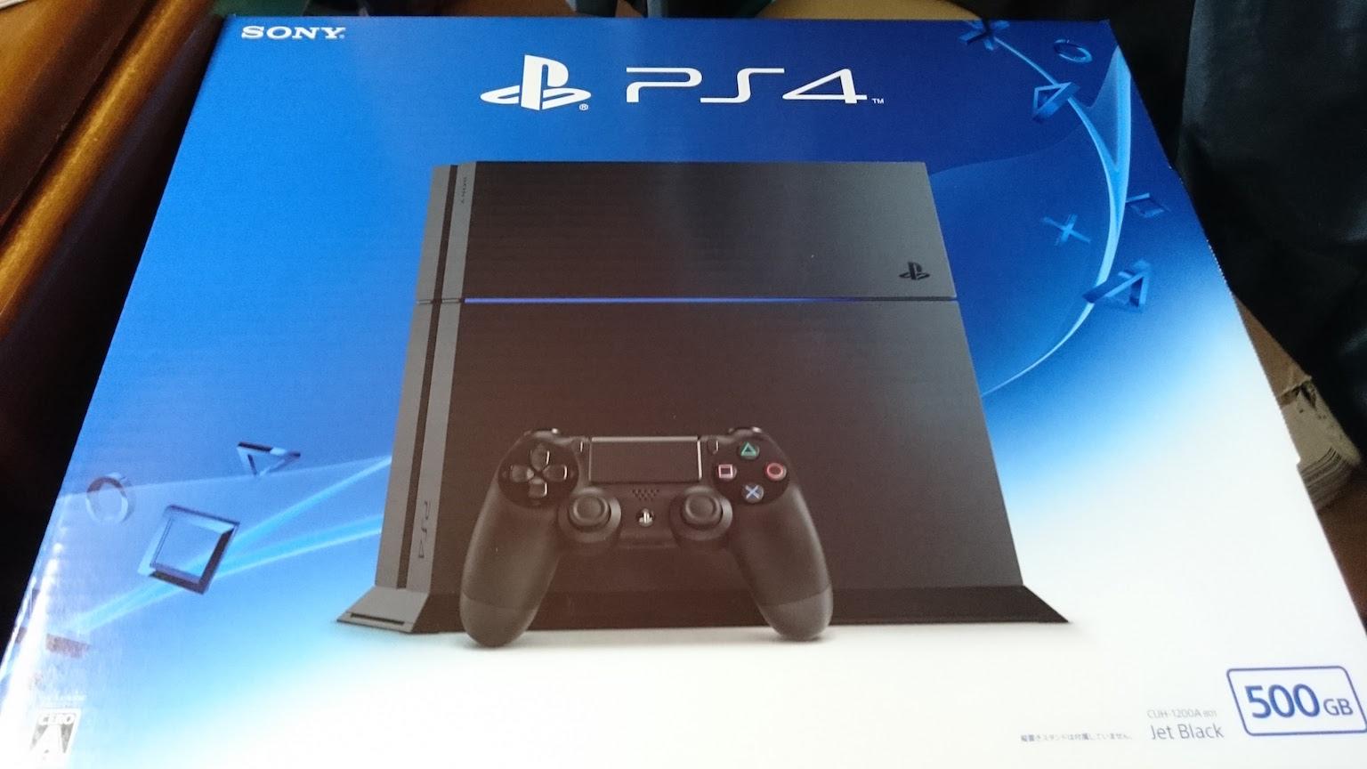 PS4 (CUH-1200) レビュー