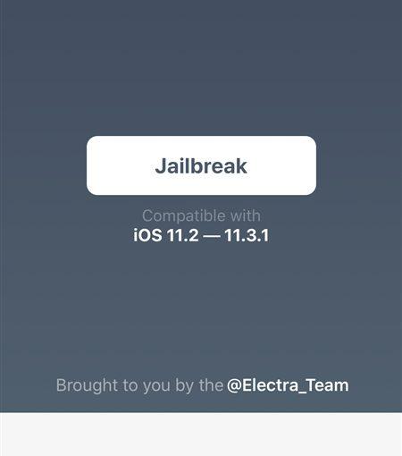 iOS 11.2-11.3.1 Jailbreakツール「Electra」リリース [使用方法]